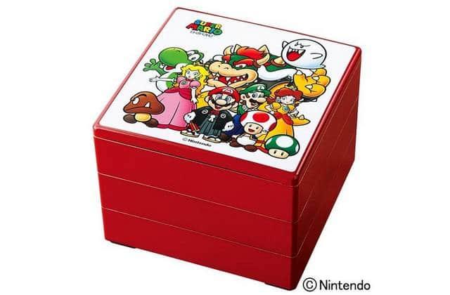 Nintendo fête le Nouvel An japonais avec de la nourriture estampillée Super Mario
