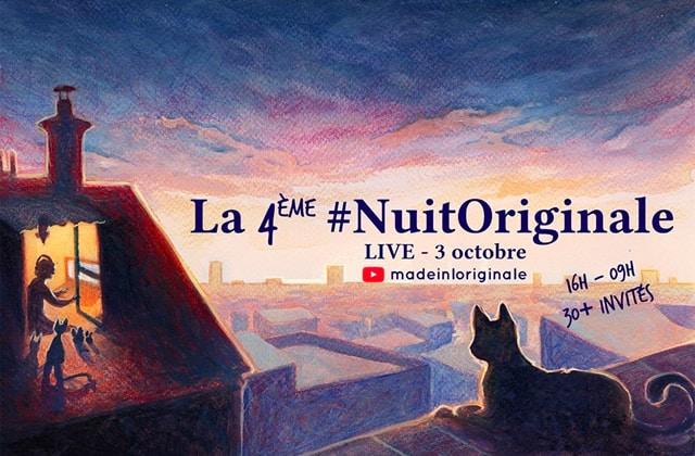 EN REPLAY — La 4ème #NuitOriginale est à revoir!