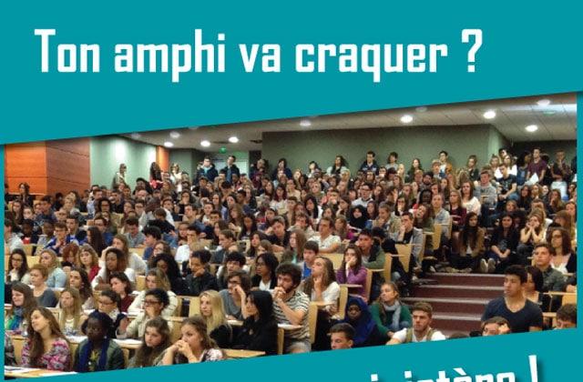 «Ma salle de cours va craquer», le Tumblr qui montre les amphis blindés