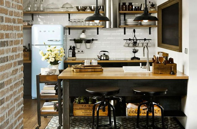 S lection d co pour une cuisine industrielle for Pinterest cuisine deco