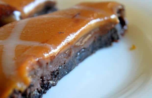 tarte chocolat caramel beurre salé lait concentré