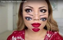 Le tuto maquillage d'Halloween le plus WTF de l'année