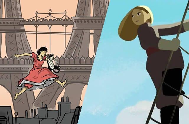 «Avril et le monde truqué» & «Tout en haut du monde », deux films d'animation avec des héroïnes au top
