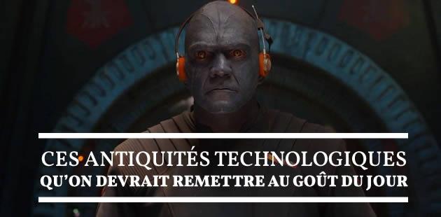 Ces antiquités technologiques qu'on devrait remettre au goût du jour
