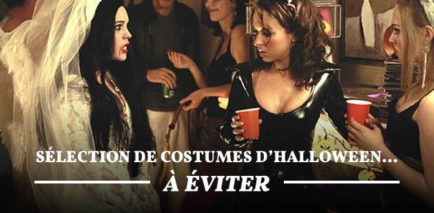 Sélection de costumes d'Halloween… à éviter