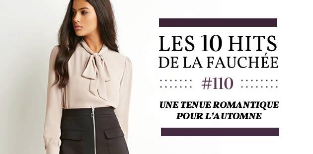 Une tenue romantique pour l'automne 2015 — Les 10 Hits de la Fauchée #160