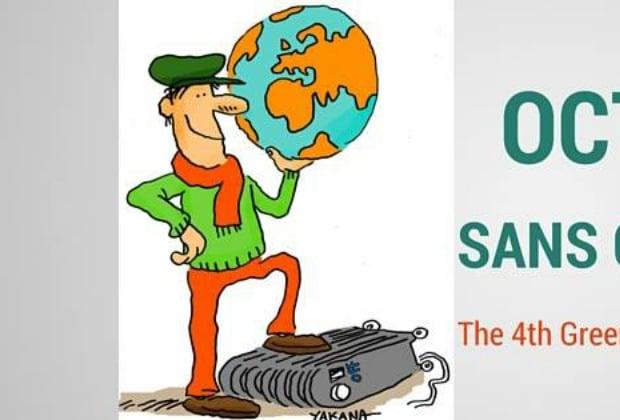 «Octobre sans chauffage», un défi pour limiter les émissions de CO2