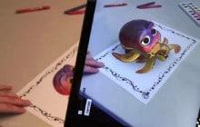 On pourra bientôt animer ses coloriages Disney en 3D !
