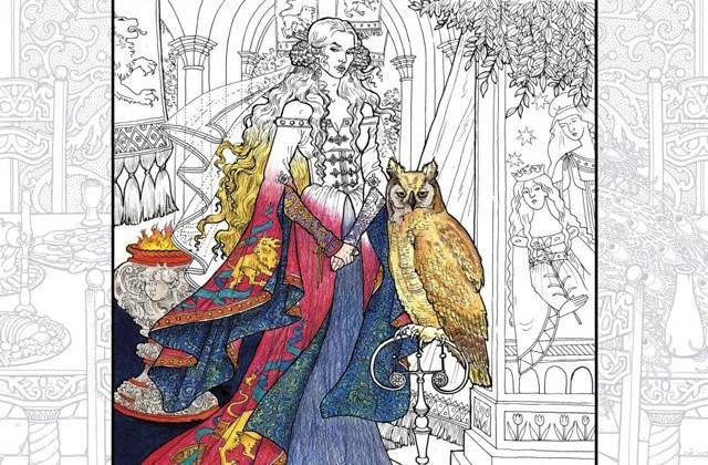 «Game of Thrones» a son livre de coloriages officiel!