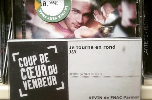 Kevin de la Fnac Parinor, le vendeur qui réinvente la critique musicale