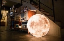 Luna, la lampe pleine lune qui vous fait vivre sous les étoiles !