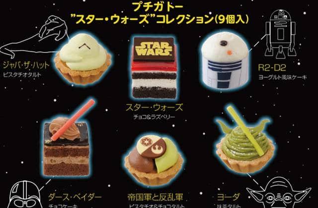 Les pâtisseries Star Wars vous font rejoindre le côté sucré de la Force
