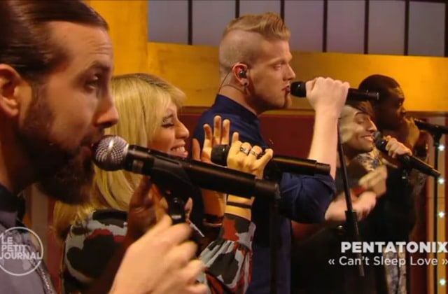 Pentatonix ambiance le Petit Journal en live avec « Can't Sleep Love »