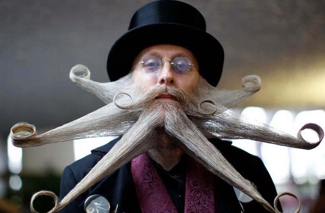 Les plus belles barbes et moustaches du monde sont réunies dans une vidéo