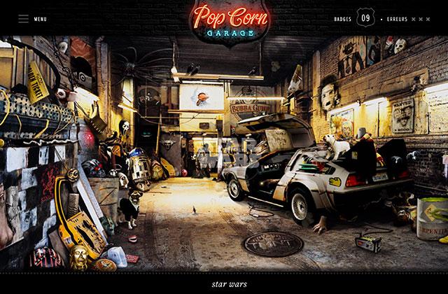 Popcorn garage le jeu de culture cin qui va bouffer ta journ e - Garage du nouveau monde hazebrouck ...