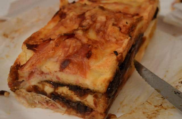 Le «croq-cake» au chutney d'oignons, la recette 100% sans respect