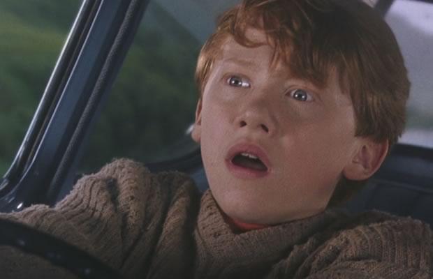ron weasley car