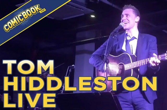 Tom Hiddleston (Loki de « Thor ») donne un vrai-faux concert de country