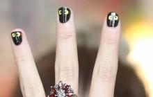 Tuto Nail Art Halloween – Manucure express