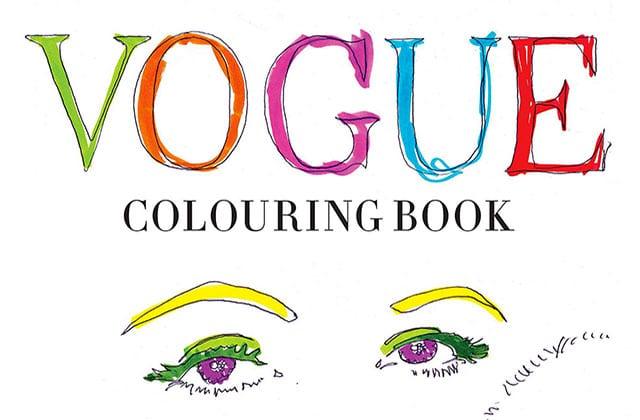 Vogue UK va sortir un livre de coloriage mode pour ses 100 ans