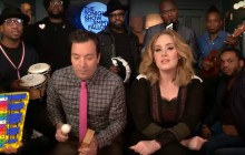 Adele chante « Hello » avec The Roots chez Jimmy Fallon
