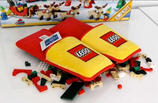 Les chaussons anti-LEGO, pour protéger vos pieds des petites briques vicieuses