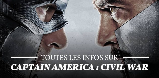 « Captain America : Civil War », le prochain Marvel, a un nouveau trailer !