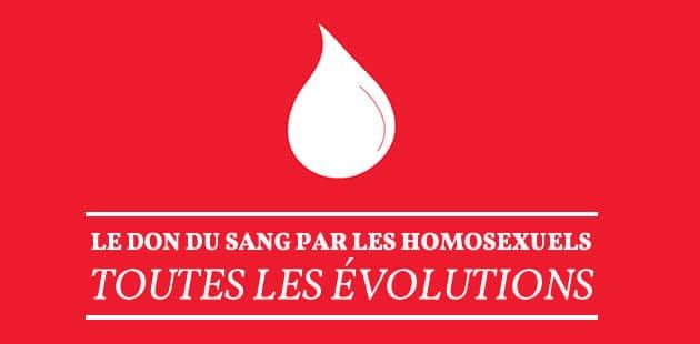Le don du sang par les homosexuels enfin autorisé… mais sous conditions