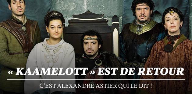 «Kaamelott» est de retour, c'est Alexandre Astier qui le dit !