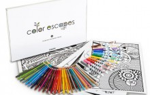 Crayola lance sa collection de coloriages pour adultes
