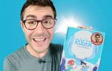 Cyprien présente sa première BD, «Roger et ses humains»
