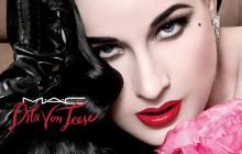 Dita Von Teese crée un rouge à lèvres pour MAC