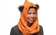 L'écharpe à capuche Star Wars pour se déguiser en Ewok !