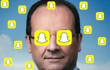 François Hollande aura bientôt un compte Snapchat
