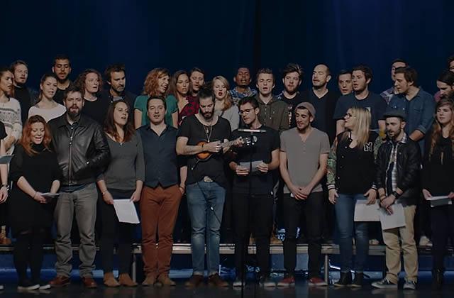 Imagine Paris : la «Génération Bataclan» rend hommage aux victimes des attentats du 13 novembre en chanson