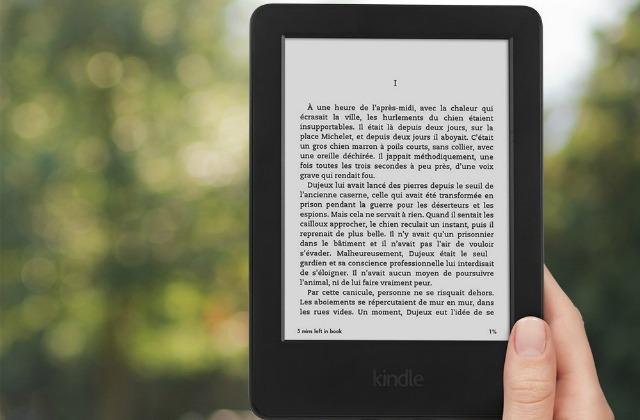 Le Kindle d'Amazon est en promotion !