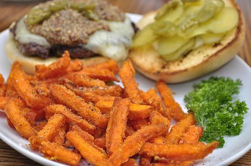recette mont d'or au four frites patates douces