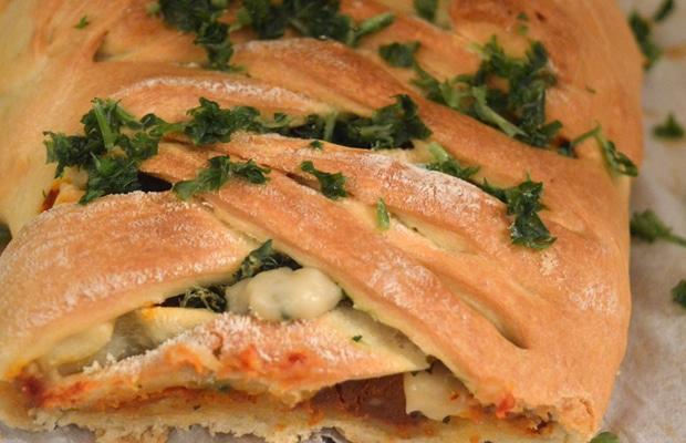 recette pizza tressée trop bon