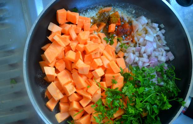 quinoa patate douce recette