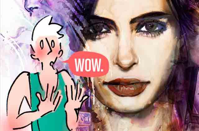 Et si j'avais les pouvoirs de Jessica Jones ? — Le dessin de Cy.