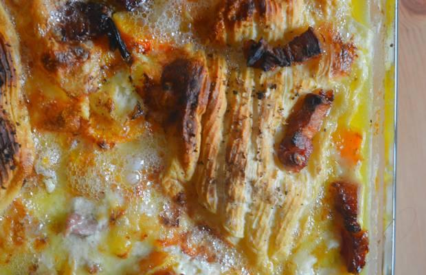 recette courge butternut tartiflette