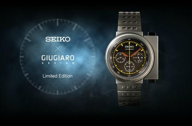 Seiko réédite la montre de Sigourney Weaver dans «Alien»