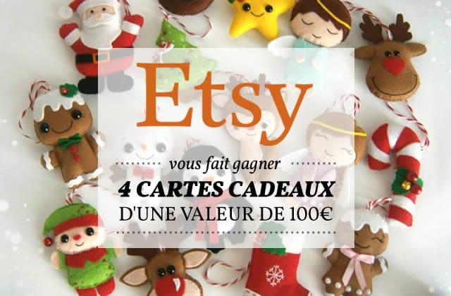 Sélection mode et déco spéciale Noël avec Etsy (+concours!)