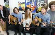 The Seasons chante « Apples » en acoustique