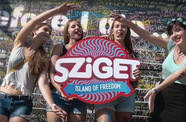 Le Sziget Festival 2015 dévoile son film officiel : souvenir d'une ambiance de folie