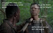 The Walking Dead S06E04 — Le récap (rigolo)