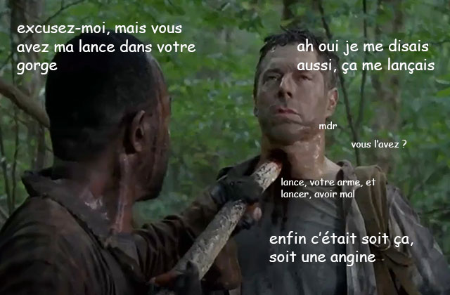 The Walking Dead S06E04 — Le récap (rigolo)
