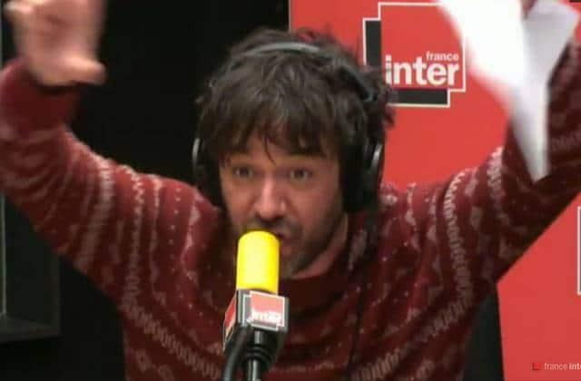 Thomas VDB fait un actualizik à propos des attentats sur France Inter