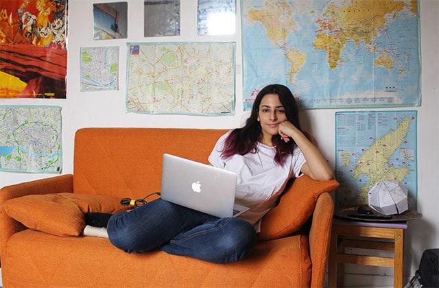 Dans l'appart' de Sarah, étudiante en sciences politiques à Paris