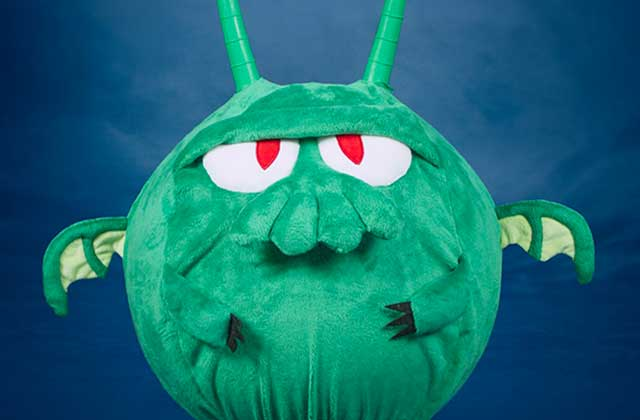 Le ballon sauteur en forme de Cthulhu — Idée cadeau cool
